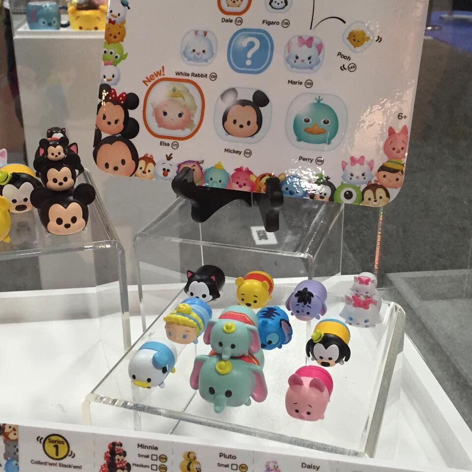 The Upcoming Tsum Tsum Merchandise On Display At Sdcc