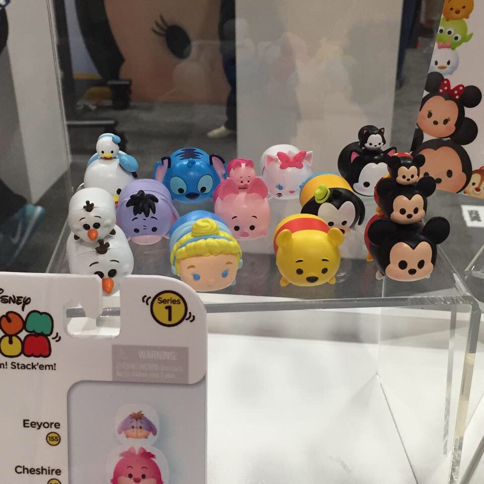 A Look At The Upcoming Tsum Tsum Products And Booth At