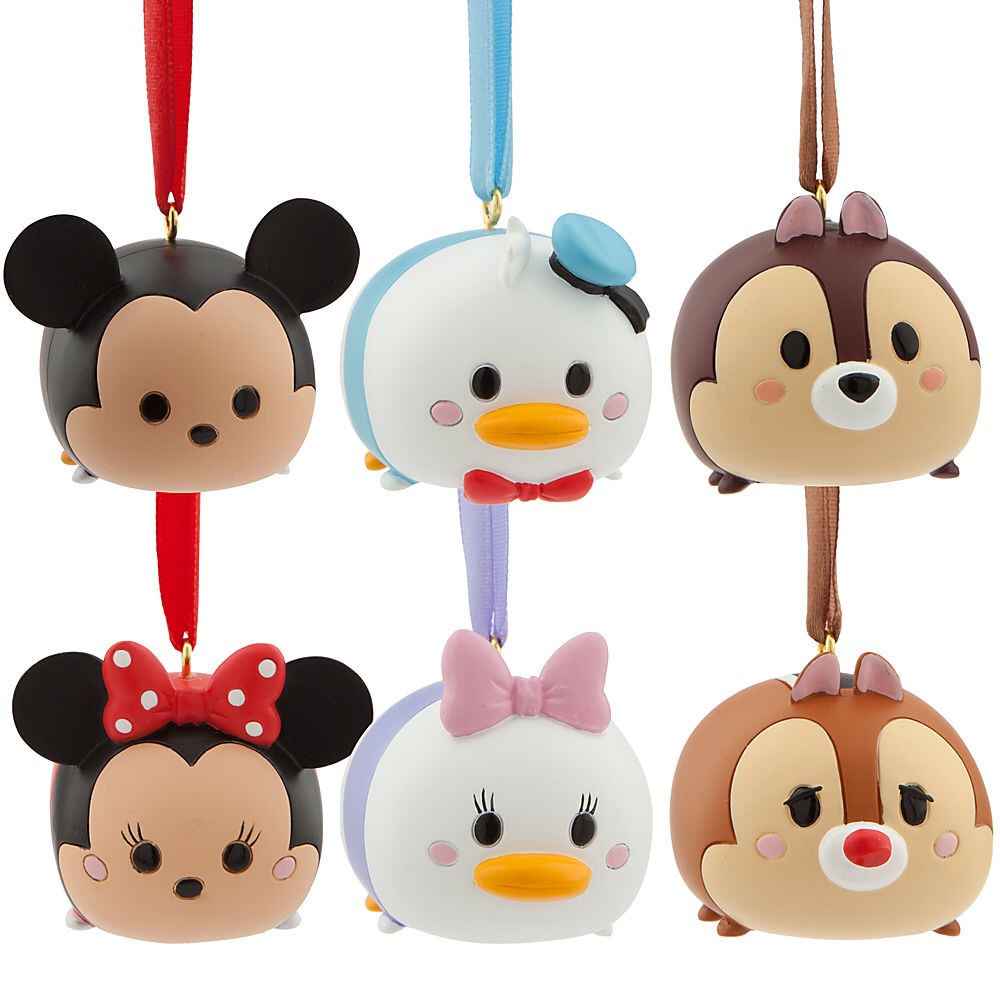 New Tsum Tsum Ornament Set Released Online