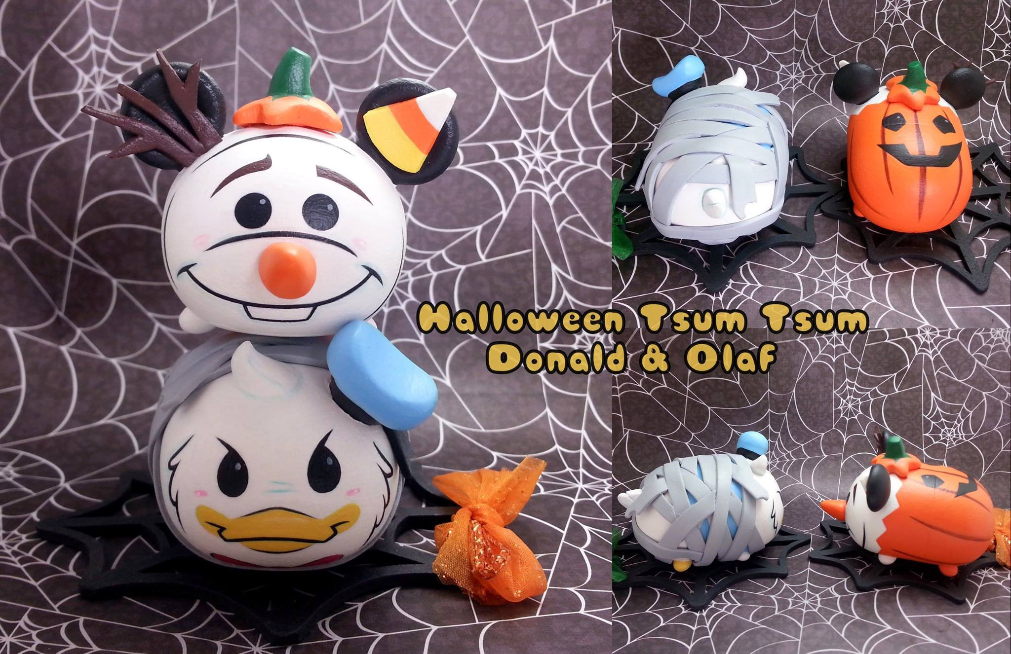 Halloween And Haunted Mansion Tsum Tsum Customs By Celeste
