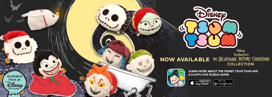 New Nightmare Before Christmas Tsum Tsum Box Set Released Online ...