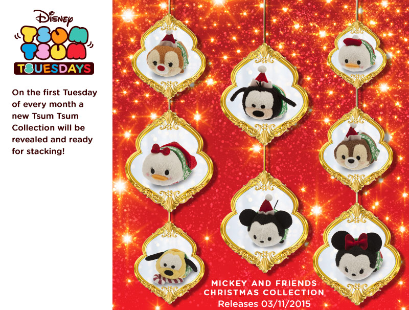 Mickey and Friends Christmas Collection Tsum Tsum to be Released ...