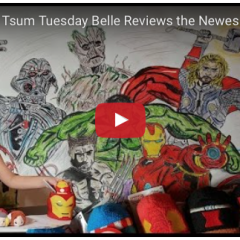Review of the Marvel Tsum Tsum Collection with Belle 'n' Friends