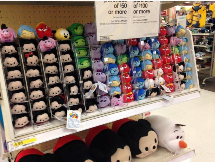 7a29d25c900 Inside Out Tsum Tsums Begin to Surface at Target Stores