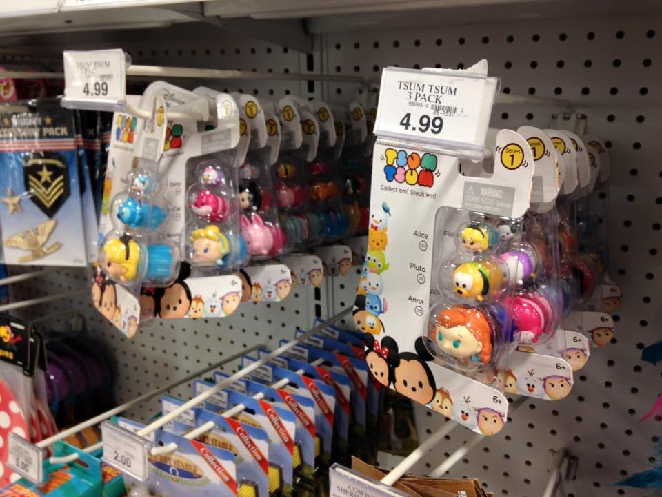 Disney Tsum Tsum Minifigures Discovered At Toys R Us Disney Tsum Tsum