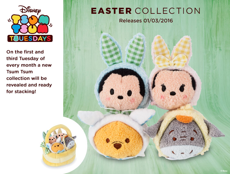 The Easter Tsum Tsums are on Their Way  Disney Tsum Tsum