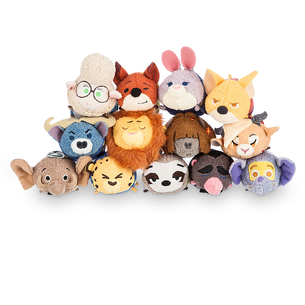 Zootopia Tsum Tsum Collection Released Online