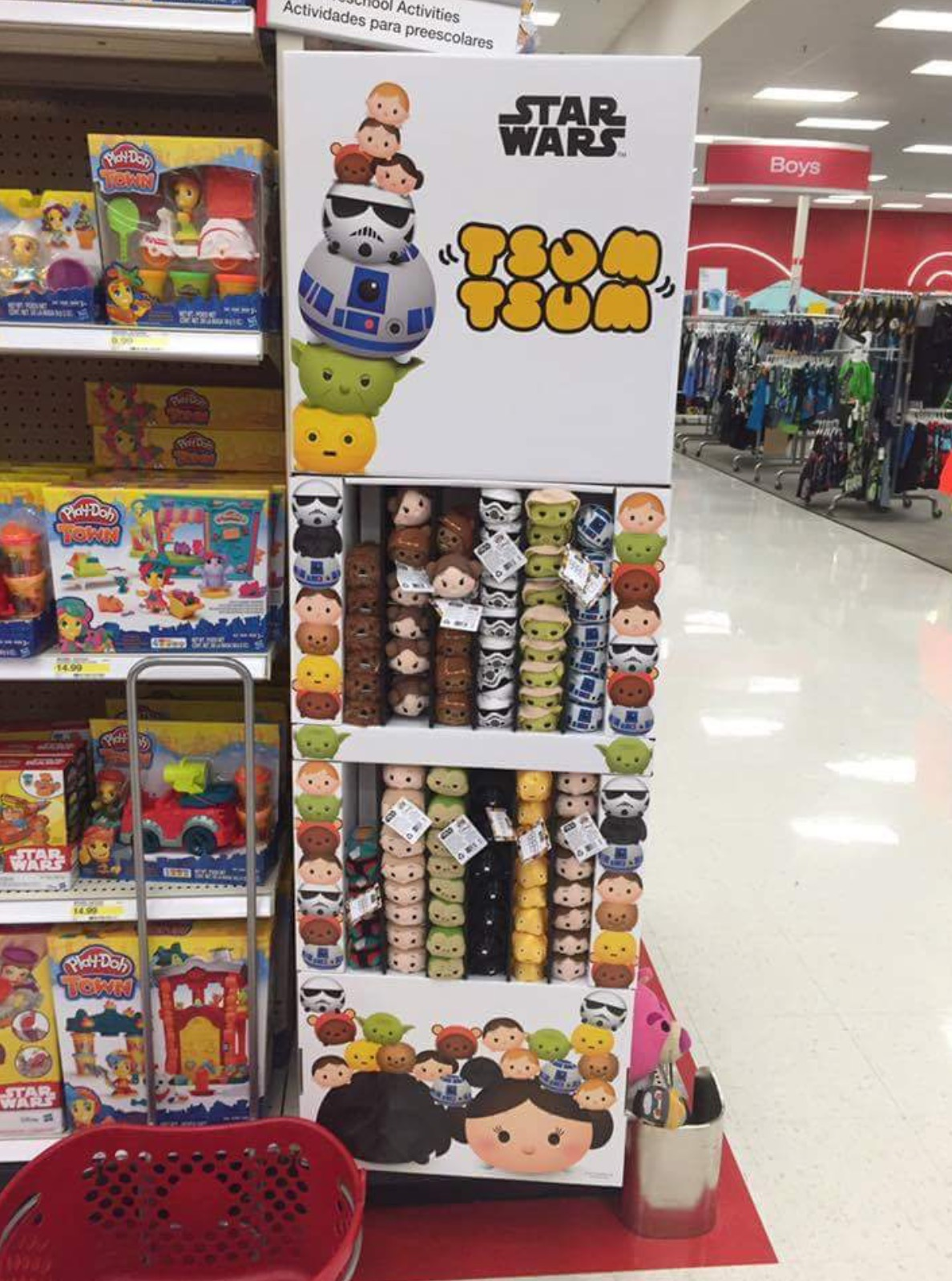 Star Wars Tsum Tsum Surface At Target Stores Disney Tsum