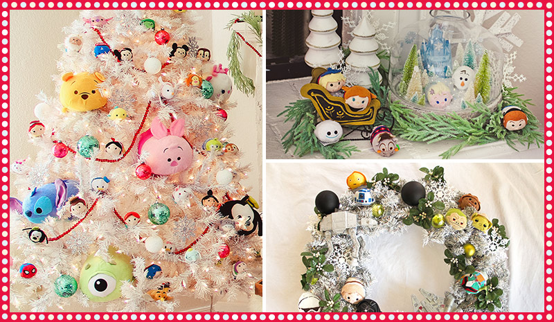 Disney Releases 3 Holiday Do It Yourself Tsum Tsum Craft Projects