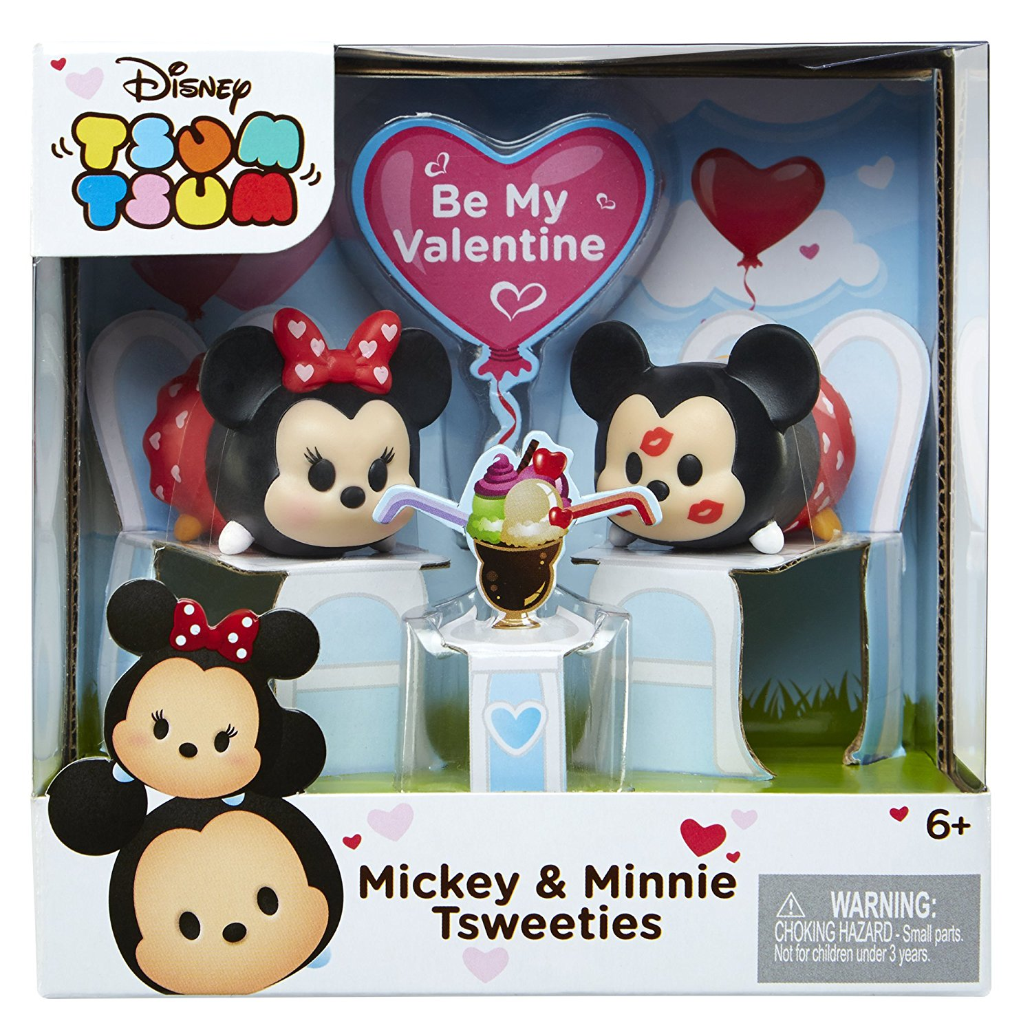 New Valentine S Day Mickey And Minnie Jakks Pacific Tsum