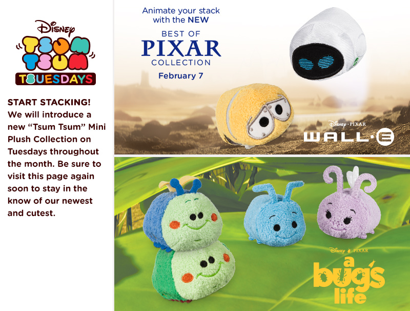 New Best Of Pixar Tsum Tsum Collection To Be Released