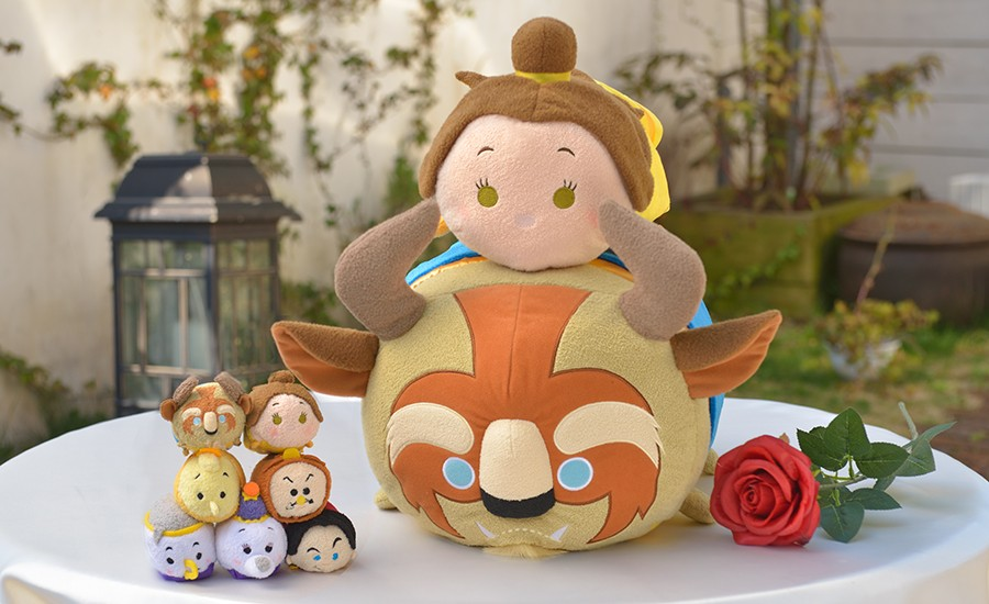a64a94792c2 Beauty and the Beast Tsum Tsum Collection to be released in Japan on April  26