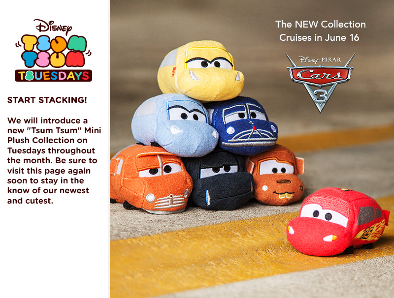 Cars 3 Tsum Tsum Collection To Be Released June 16