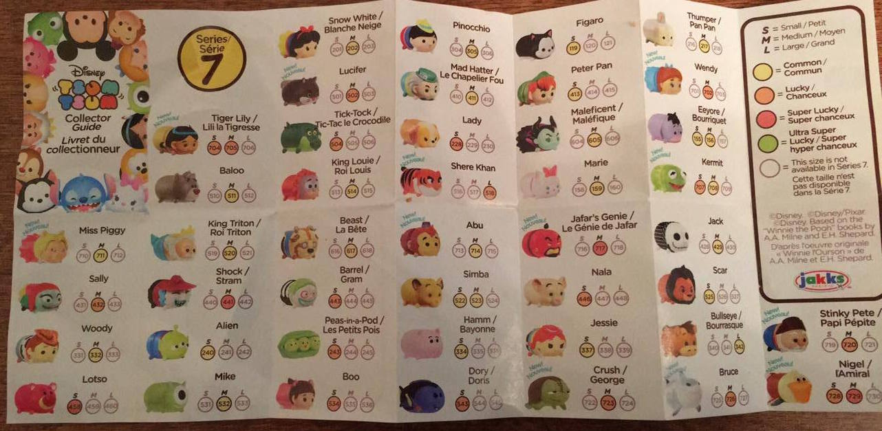 A Look At The Jakks Pacific Disney Tsum Tsum Series 7