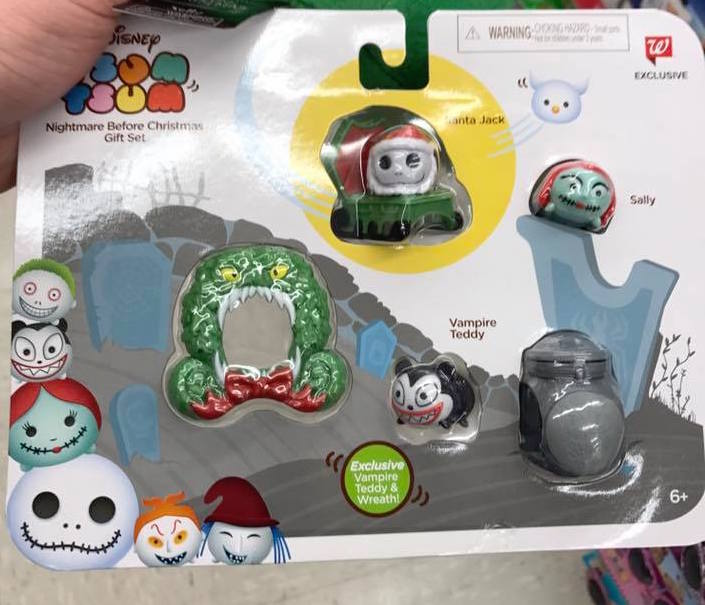 photos of the new walgreens exclusive nightmare before christmas tsum tsum set surface disney tsum tsum