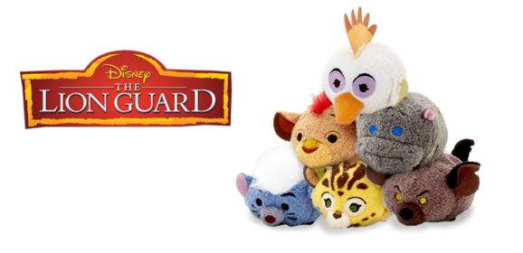 New Lion Guard Tsum Tsum Collection to be released August 29 in UK/Europe!