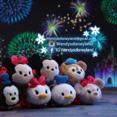 Previews of the upcoming Hong Kong Disneyland 12th Anniversary Tsum Tsum set!
