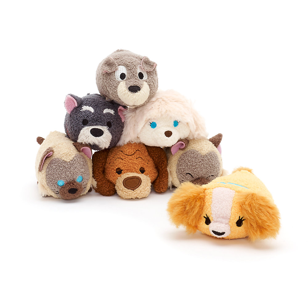 New Lady And The Tramp Tsum Tsum Collection Now Available Online Disney Tsum Tsum