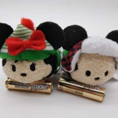 Sneak Peek at four of the upcoming 2017 Christmas Tsum Tsums!