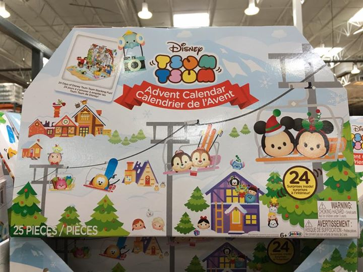 Previews Of The Costco Exclusive 2017 Tsum Tsum Advent