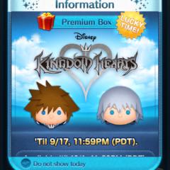 Kingdom Hearts Update in the Disney Tsum Tsum App!