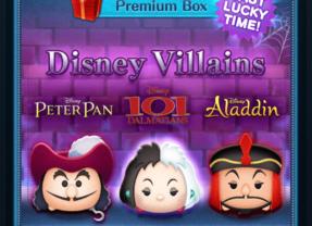 Last Lucky Time for Disney Villains in the Disney Tsum Tsum App!