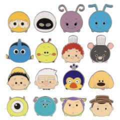 New Disney Tsum Tsum Series 5 Pin Collection Now Available at Disney Parks!