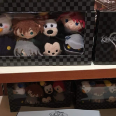New 2018 D23 Expo Japan Kingdom Hearts Tsum Tsum Set Released!