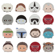 New Star Wars Series 3 Tsum Tsum Pins Now Available Online!