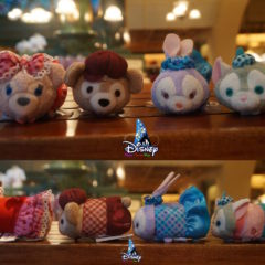 New Valentine's Day Themed Duffy, ShellieMay, Gelatoni, and StellaLou Tsum Tsums released at HKDL!