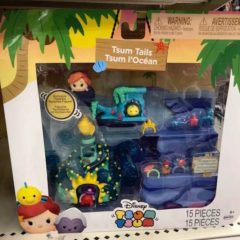 Preview of the new Little Mermaid Tsum Tails Tsum Tsum Set by Jakks Pacific!