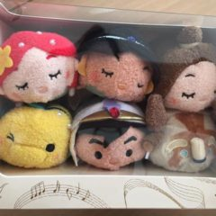 Detailed look at the new D23 Expo Japan Exclusive Princess Tsum Tsum set!