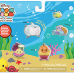 Two new Disney Tsum Tsum Multi-figure Sets to be released this Fall!