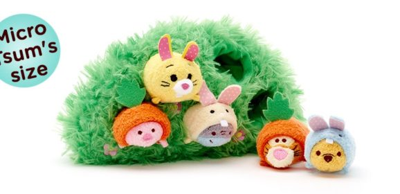 New 100 Acre Woods Easter Micro Tsum Tsum Set Coming Soon!