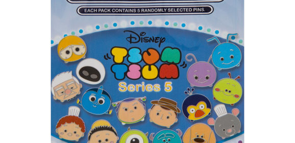 New to Shop Disney: Pixar Tsum Tsum Mystery Pack Series 5