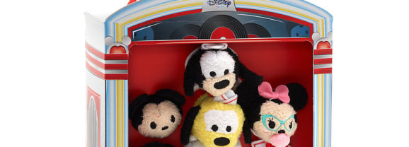 New Mickey and Friends 1950's Diner Micro Tsum Tsum Set Released!