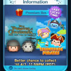 Last Lucky Time for certain Tsum Tsum in the Disney Tsum Tsum App!