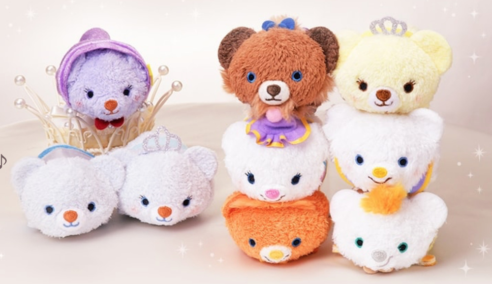 New Unibearsity Tsum Tsum Series Featuring Cinderella And