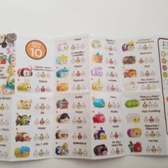 A Look at the new Disney Tsum Tsum Series 10 Checklist!