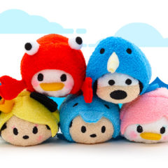 New Mickey and Friends Sea Life Tsum Tsum Collection to be relased April 17!