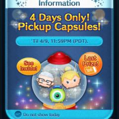Capsule Update in the Disney Tsum Tsum App!