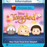 Tangled Tsum Tsum in the Disney Tsum Tsum App!