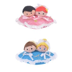 New Ariel/Prince Eric and Cinderella/Prince Charming Tsum Tsum Wedding Sets Coming Soon!