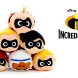 New Incredibles 2 Tsum Tsum Collection to be released June 12 in UK and Europe!