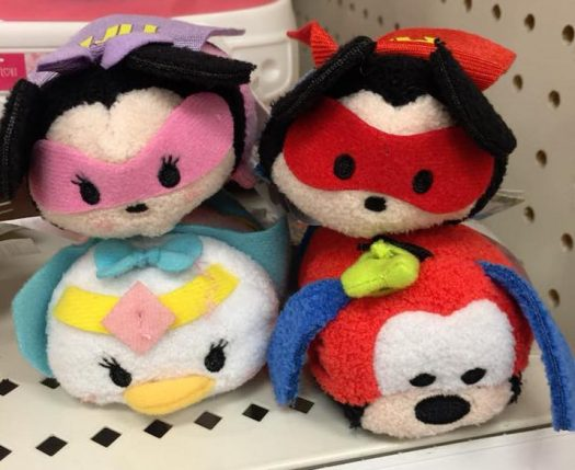 3e596aebc2b New Mickey and Friends Super Hero and 60 s Style Tsum Tsums surface ...