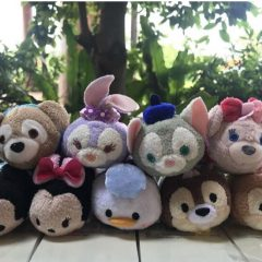 Previews of the new Hong Kong Disneyland 13th Anniversary Tsum Tsum Series!
