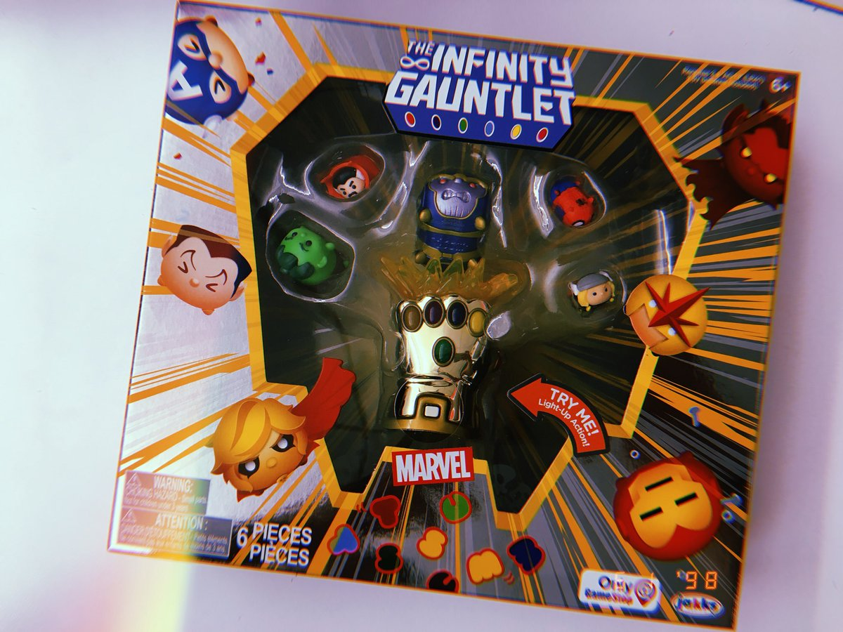 Previews Of The Sdcc Exclusive Infinity Gauntlet Tsum Tsum
