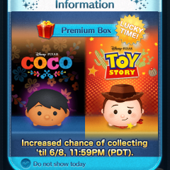 Lucky Time for Sheriff Woody and Miguel in the Disney Tsum Tsum App!