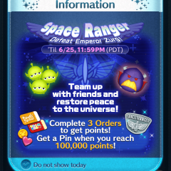 New Space Ranger Event in the Disney Tsum Tsum App!