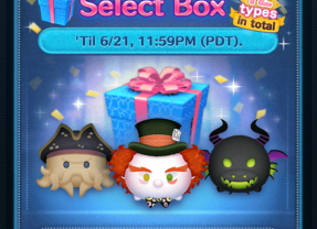 Select Box now in the Disney Tsum Tsum App!